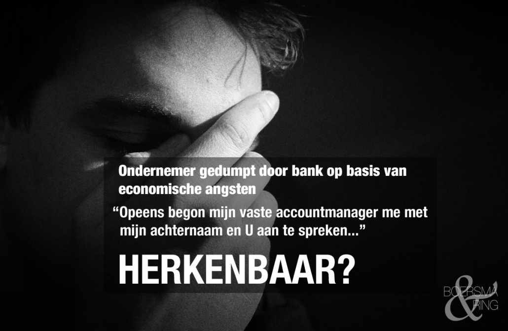 Gedumpt door de bank - dialoog