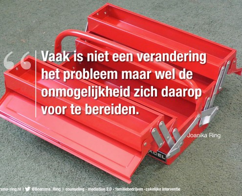 Quote van Joanika Ring over verandering
