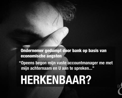 Gedumpt door de bank - dialoog
